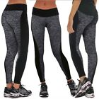 Women Sports YOGA Workout Gym Fitness Leggings Pants Trousers Athletic Clothes