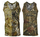 Mens Jungle Print Camouflage Army Combat Sleeveless Vest Fishing Hunting