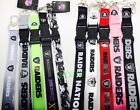 NFL Oakland Raiders keychain Lanyard Pick Your Color