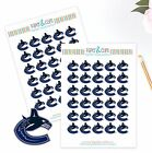 Vancouver Canucks Planner Stickers - Perfect for all Planners like Erin Condren $3.5 USD on eBay