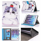 Painted Flip Stand Leather Skin Wallet Magnetic Case Cover For iPad Air 2/Mini 4