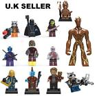 Guardians of the Galaxy Minifigure Marvel Groot Star Lord Mini Figure Fit Lego