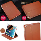Luxury Genuine Leather Case Smart Auto Sleep Stand Cover For iPad Pro 12.9""