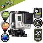 GoPro Hero 3+ Black Edition Silver 12.0 MP HD Action Camcorder Camera CHDHX-302
