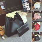 2Pcs Set Ladies Women Handbag Shoulder Bag Messenger Satchel Tote Purse Hobo Bag