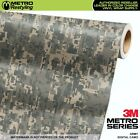 DIGITAL ARMY Camouflage Vinyl Car Wrap Camo Film Decal Sheet Roll Adhesive