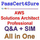 Amazon AWS Certified Solutions Architect Professional SAP-C01 Exam Q&A PDF+SIM