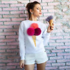 New Fashion Women Long Sleeve Loose Shirt Casual Blouse T-Shirt Tops  Blouses