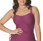 Curvy Kate CS3506 Jetty Balcony Tankini Top in Berry