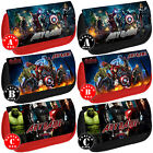 AVENGERS Personalised Pencil Case Bag Super Hero Comic School Any Name Cool Gift