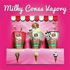 Milky Cones Vapory Juice Cookies N' Cream, Strawberry Shortcake, Vanilla 60ml