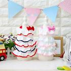 NEW Petstyle Summer Ruffle Dog Dress Pet Skirt Birthday Cake Dress XS S M L XL