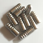 2PK-10PK BALL THREAD Pool Cue Joint Protector Pin Screw Studs - Stainless Steel $16.5 USD on eBay