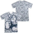Popeye TATTOOED SAILOR 2-Sided Sublimated All Over Print Poly T-Shirt