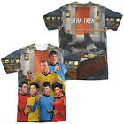 Star Trek Original Series Cast on BRIDGE 2-Sided All Over Print Poly T-Shirt on eBay