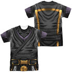 Ninjak Comic Hero UNIFORM 2-Sided Sublimated All Over Print Poly T-Shirt