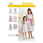 Simplicity 1211 | Child's & Girls' Dress in two lengths Sewing Pattern