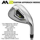 TaylorMade 2017 M2 Approach Wedge 10+ No-Upcharge Shafts Pick a Shaft and Flex