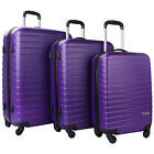 Merax Artemis 3 Piece ABS Hardshell Spinner Luggage Set Travel Suitcase  <br/> Limited QTY Sale!!!Ship from USA