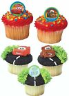 Disney Cars Cupcake Rings Party Favors Cake Toppers