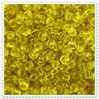 20g - 100g Transparent Yellow Seed beads Size 6/0. 10