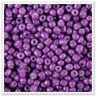20g - 100g Opaque Violet Seed beads Size 8/0. JM977