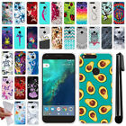 "For Google Pixel 5"" HTC Various Design TPU SILICONE Protective Case Cover + Pen"