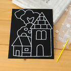 1 6 10x Novelty Scratch Cardboard DIY Draw Sketch Notes Memo Pad for Kid B