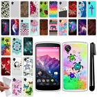 For LG Google Nexus 5 D820 TPU SILICONE Soft Protective Case Cover + Pen