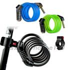 New Cycling Security 4 Digit Combination Password Bike Bicycle Cable Chain Lock