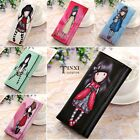 New Women Girl PU Leather Wallet Ladies Long Card Holder Handbag Bag Clutch TXSU