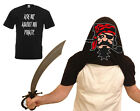 Ask Me About My Pirate Flip Funny Tee T-Shirt Top Tumblr Gift Secret Santa