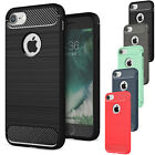 Hybrid Rugged Rubber Shockproof Slim Soft Back Case Cover For iPhone 6 6s Plus