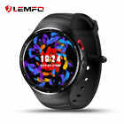 Lemfo LES1 Bluetooth 3G SIM Smart Watch Phone 1/16GB GPS WiFi For Android iphone