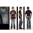 ROCK & ROLL COWBOY Boy's and Youth BB Gun Regular Fit Boot Cut Jeans BB-1464 NWT