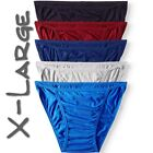 5 PACK LIFE JOCKEY MEN'S STRING BIKINI BRIEF UNDERWEAR COTTON- S, M, L & XL