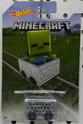SLIME 4 2017 MINECART MINECAFT HW HOT WHEELS
