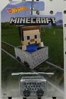 1 STEVE 2017 MINECART MINECAFT HW HOT WHEELS