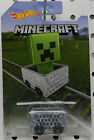 3 CREEPER 2017 MINECART MINECAFT HW HOT WHEELS