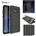New 2in1 ipaky Brand Hybrid Bumper TPU Cover case For Samsung Galaxy S8 S8 Plus