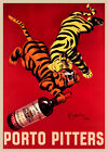 Vintage PORTO PITTERS by Cappiello print on Paper or Canvas Giclee Poster