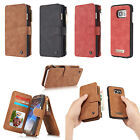 CaseMe Magnetic Cover Wallet Leather Case Stand Slots for Samsung Galaxy Models