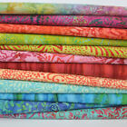 MODA Tiki Batiks 100 % cotton fabric fat quarter & 25cm x 25cm bundle for sewing