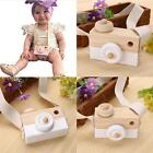 Painted Nursery Kids Wood Camera Children Room Decor Natural Safe Wooden Toy Kid