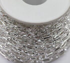 Metal Chain Antique Silver Open Link Cable Chains Jewellery Making Finding Craft