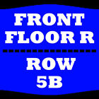 2 TIX HUEY LEWIS AND THE NEWS 6/24 FLOOR RIGHT ROW 5B INDIAN RANCH WEBSTER