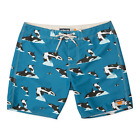 Ambsn Whilly Boardshorts Blue