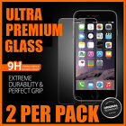 2 x iPhone 7 7 Plus Genuine Premium Tempered Glass Screen Protector
