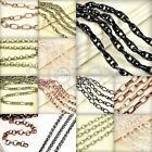 2m 6.56  Chains Vintage Wholesale Necklace 7 Shape 15 Sizes