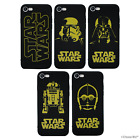 Star Wars Case/Cover Apple iPhone 5 5s SE 6 6s 7 Screen Protector / Gel Silicone £2.99 GBP